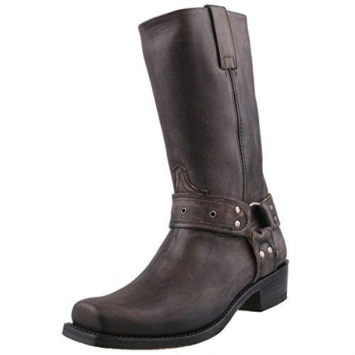 Sendra Boots, Stivali uomo Grigio antracite, Grigio (antracite), 46