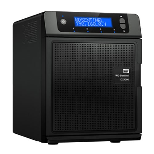WD Sentinel DX4000 NAS-System mit Festplatte 4TB (Gigabit Ethernet, USB 3.0, WD Enterprise Festplatten, 64MB Cache/7200Rpm.)