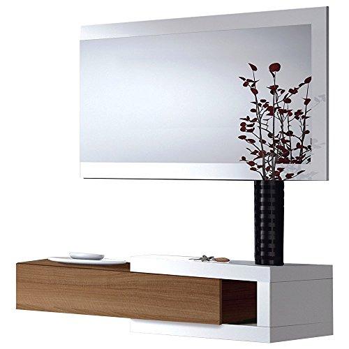Due-home Habitdesign - Recibidor cajón + espejo
