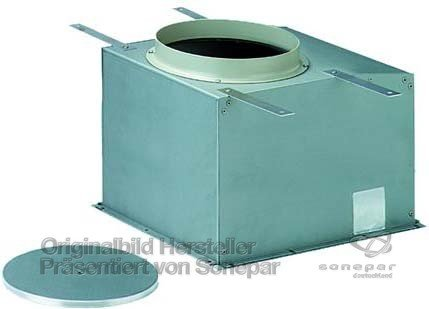 Ridi-Leuchten Beton-Einbautopf Bet EDLR 150 Leuchteneinbaugehäuse 4029299447804