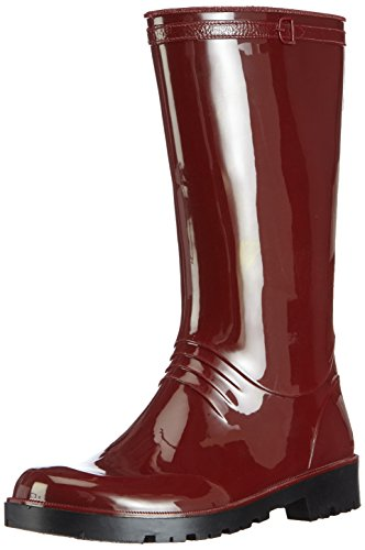 Chuva IRIS DAMESLAARS PVC ROOD 41 Damen Halbschaft Gummistiefel Rot (Rot(Rood) 03)