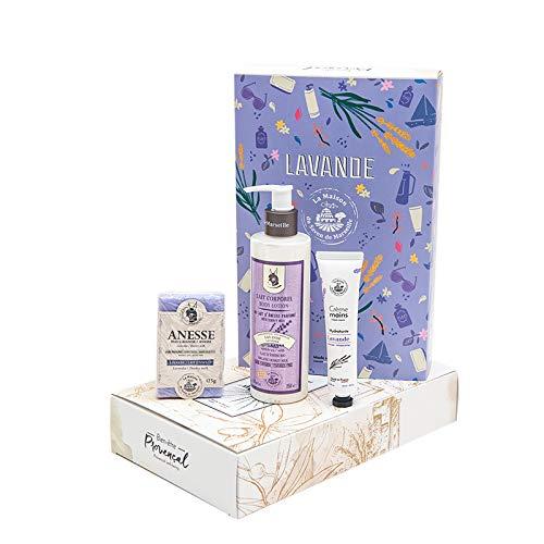 Luxus-Geschenkset - Lavendel der Provence - Seifenhaus von Marseille -