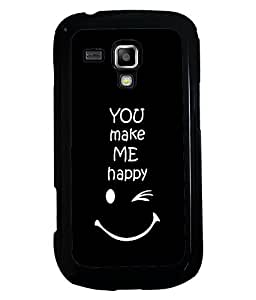 Fuson 2D Printed Quotes Designer back case cover for Samsung Galaxy S Duos 2 S7582 - D4290