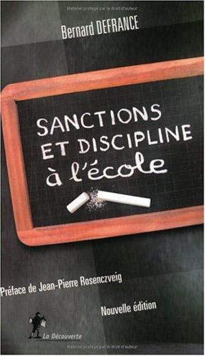 Sanctions et discipline  l'cole