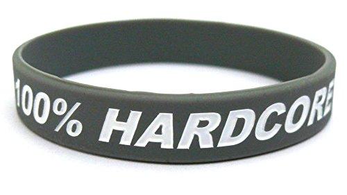 Fitness Wristband 100% HARDCORE