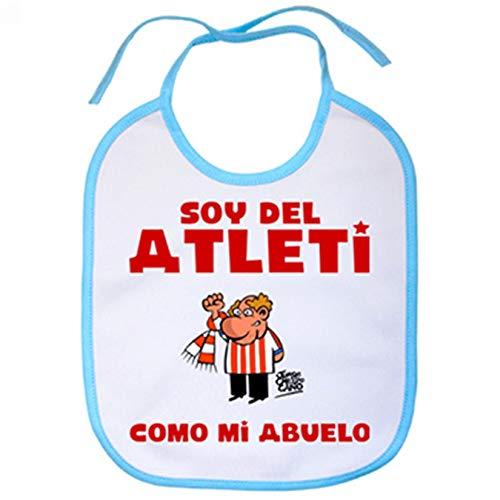 Babero Atlético Madrid soy atleti como mi abuelo