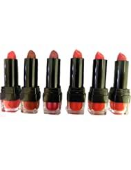 W7 LIPSTICK 3.5g 'THE KISS RED RANGE' SET OF 6 LIPSTICKS by W7