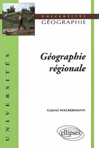 Géographie régionale