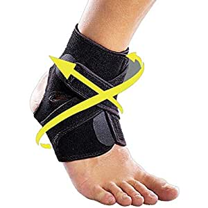 HealthyNeeds Adjustable Elastic Support Breathable Wrap Pad Foot Sports Pain Relief Ankle