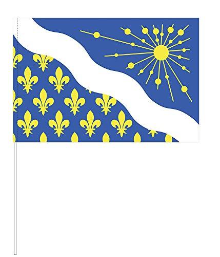 Eurodrapeau Drapeau Essonne, Polyester, Quadri, 120 x 80 x 5 cm