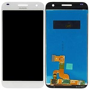 Display LCD Komplett Einheit für Huawei Ascend G7 Reparatur Weiß + Werkzeug Opening Tool