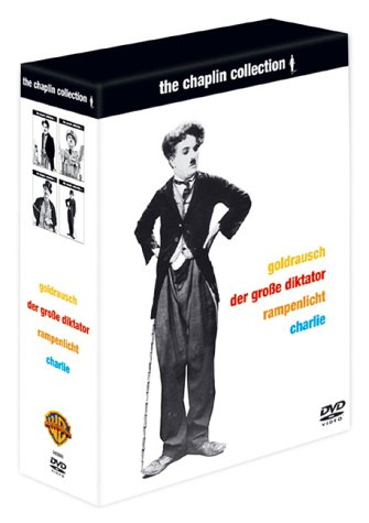 The Chaplin Collection 2 (Goldrausch, Der große Diktator, Rampenlicht, Charlie: The Life and Art of Charles Chaplin) [7 DVDs]