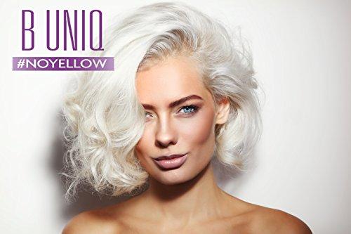Silbershampoo für blonde, blondierte, gesträhnte & graue Haare – Violett-Pigmente gegen Gelbstich – revitalisierend & sulfatfrei – 250 ml - 5