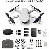IZI DJI Mavic Mini Fly More Combo Drone FlyCam Quadcopter with 2.7K Camera 3-Axis Gimbal GPS 30min Flight Time 12 mp Camera