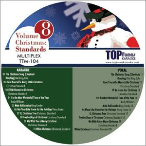 Top Tunes M Series Karaoke Multiplex CDG Christmas: Standards TTM-104 (US Import)