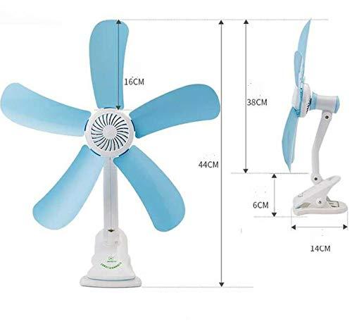 Leise 5 Blätter Elektrische Clip Fan Kühler Kinderwagen Fans Elektrische Fan Multifunktions Wandbehang Tisch Ordner Fan (Ordner-fan)