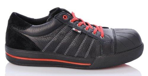 itsschuhe Ruby Sneaker 43 Schwarz (Stahl-toe-sneaker Für Frauen)