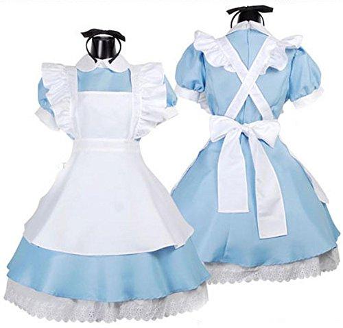 Alice in Wonderland cosplay maid set (japan (In Kostüme Wonderland Alice)