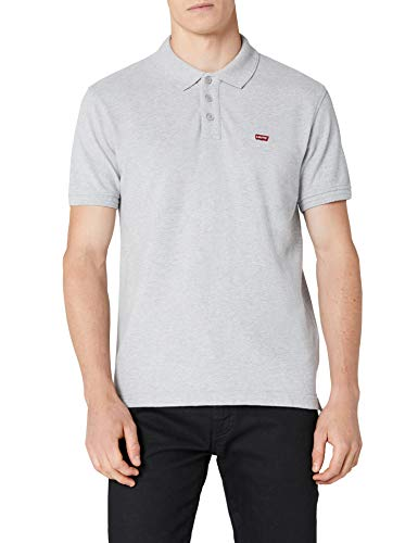 Levi's Herren Levi'S Housemark Poloshirt, Grau (Heather Grey), L(UK) -