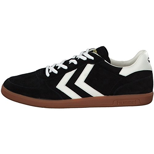 hummel Victory, Sneakers Basses Mixte Adulte Noir (Black)