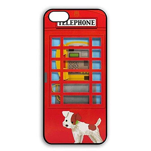 Iphone 7 plus Case,Fantasy Premium British Phone Booth Phone Case Cover for Iphone 7 plus Phone Booth Shell Cover Color052d