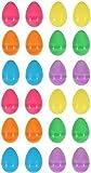 24 ColoréÀ Remplir Plastique Surprise Oeufs De Pâques - Remplissage Avec De Pâques Chasse Cadeaux Et Chocolat