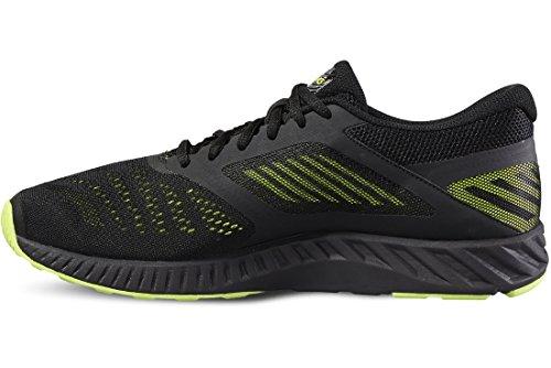 asics-fuzex-lyte-mens-running-shoes-color-black-lime-shoe-size-115-uk