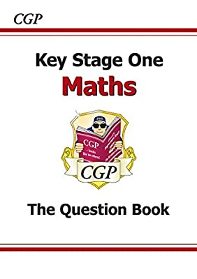 KS1 Maths Question Book (CGP KS1 Maths SATs) by Coordination Group Publications Ltd (CGP)