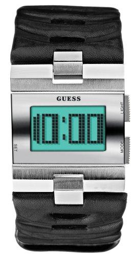 Guess - I85557G1 - Montre Mixte - Quartz - Bracelet Cuir