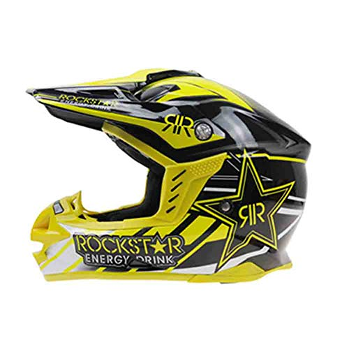 Casco moto Off-Road adulto Teenagerrs Antiurto Casco moto traspirante integrale Caschi moto traspirante Capocross Cap sicurezz