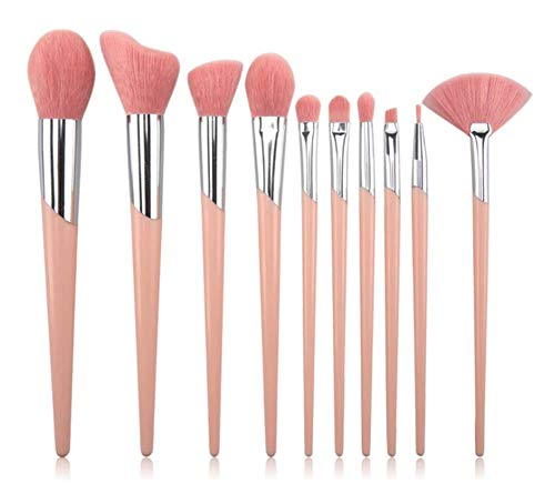 DASHUICHONGLE 10 ampullen bürstenset kunststoff MIT geneigten Bahn make - up und make - up - pinsel...