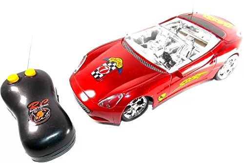 KANCHAN ENTERPRISES Super Racer Remote Control Car For Kids - Pink  available at amazon for Rs.299
