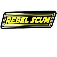 Parche Airsoft de PVC con texto «Rebel Scum»