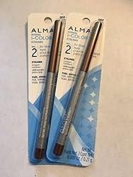 Lot of 2, Almay Intense I-Color Eyeliner, 002 Brown Topaz
