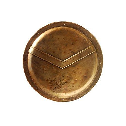 """ANTIQUENAUTICAS Medieval 300 Spartan Schild 26"""" Griechischer König Leonidas Rüstung des Krieges Rüstung Schild"""