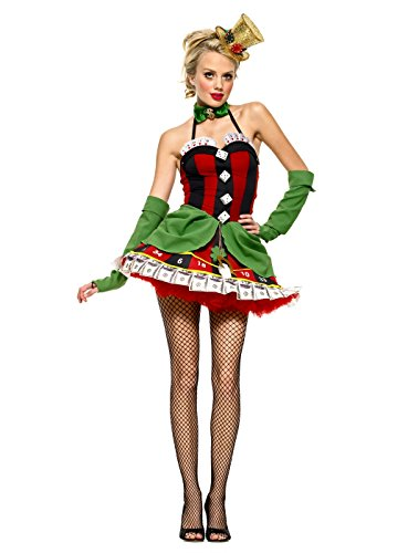 (Leg Avenue Lady Luck Kostüm , 1 Stück)