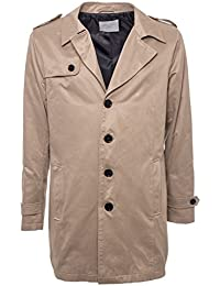SELECTED - Herren trench jacke berkeley coat 16055908 l beige
