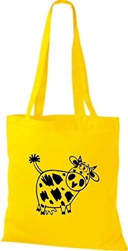 Tote Bag Shirtstown Animali Gialli