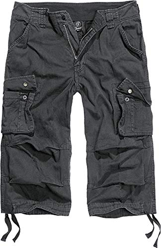 Brandit Urban Legend 3/4 Short Schwarz 3XL - Drei Viertel Bein