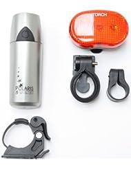 Smart 5LED vorne und Taschenlampe 3LED-Rücklicht Set