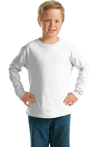 Gildan - Youth Ultra Cotton Long Sleeve T-Shirt. 2400B (Gildan Youth Cotton Ultra T-shirt)