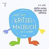 Kritzel-Malbuch ab 2 Jahre - Vicky Bo