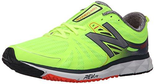 New Balance W1500v2, Chaussures de Running Compétition Homme Jaune - Gelb (Yellow/Black/Silver)