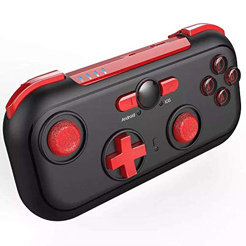 Wireless Switch Controller Gamepad, kabelloses Bluetooth Gamepad, wiederaufladbarer tragbarer Gamecontroller für iOS, Android Game Assist Artifact