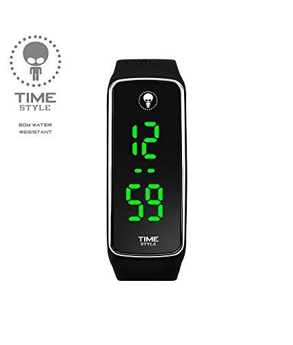 Time-Style-2017-V2-Black-Chrome-LED-Watch-Unisex-Adult-and-Kids-Version-Black-Logo-Box-2017