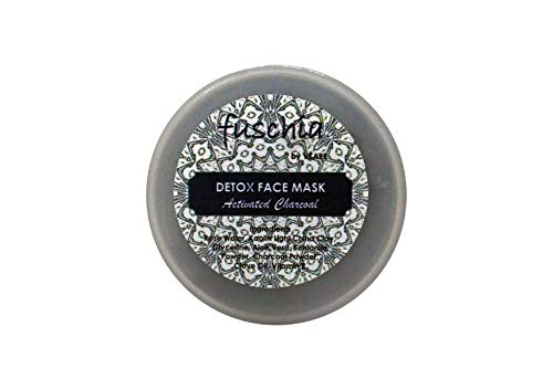 Vkare Fuschia Detox Face Mask - Activated Charcoal