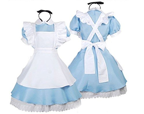 Alice in Wonderland cosplay maid set (japan import)