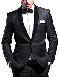 Cenizas Fashion Black Party Festive Evening Blazer
