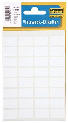 Idena 310161–Etiquetas multiusos, multicolor
