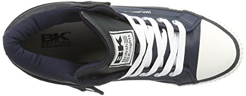 British Knights Roco Herren Hohe Sneakers Blau (Navy-Black 27)